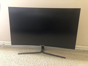 Viewsonic 144hz 1080p curved FreeSync gaming monitor for Sale in Tustin, CA