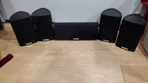 Polk audio surround sound speakers plus subwoofer for Sale in Newark, CA