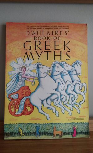 D'Aulaires Book Of Greek Myths for Sale in Gaithersburg, MD