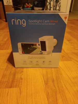 Ring Spotlight Cam (Wired) for Sale in Peoria, AZ