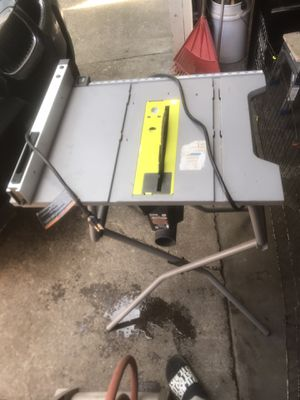 Table saw ryobi. for Sale in Vancouver, WA