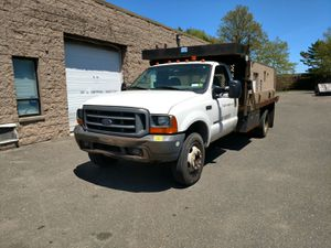 1997 Ford F450 Stake Body, Diesel, 220k, 6 Speed Manual Transmission, Runs and Drives Good for Sale in Ronkonkoma, NY