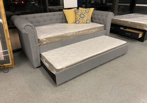 F tint Ute mattress- ⭐️🔥twin/ twin day bed + mattress ⭐️🔥 for Sale in North Highlands, CA