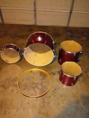 DRUMS ALMOST CONDITION GOOD FOR PROJECT..(OFFERT) for Sale in Fort Worth, TX