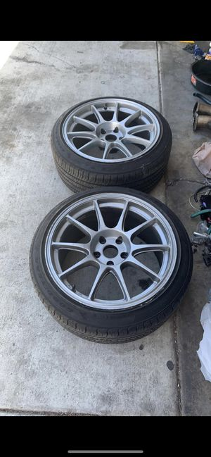 18x9.5 rims for Sale in San Diego, CA