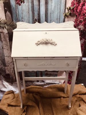 Sweet shabby chic secretary desk for Sale in Los Angeles, CA