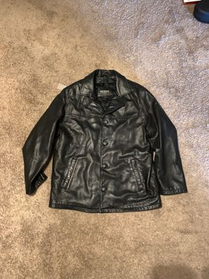 Leather Guess jacket (men's large) for Sale in San Diego, CA