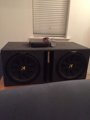 Kicker subwoofers for Sale in Frederick, MD