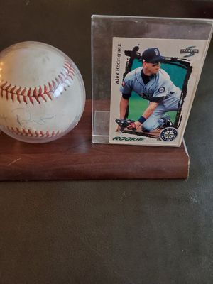 Authentic signed baseball for Sale in Seattle, WA