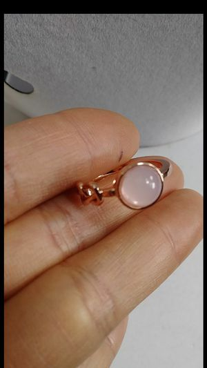 18K rose Gold Filled Pink Moonstone manmade for Sale in Richmond, CA