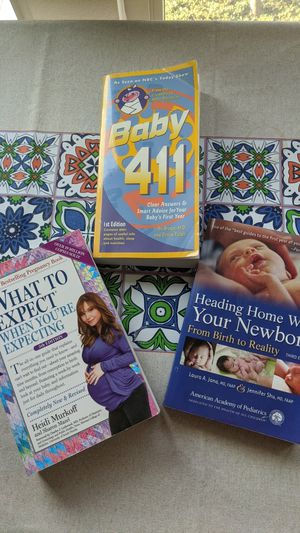 Pregnancy books - what to expect when you are expecting for Sale in San Jose, CA