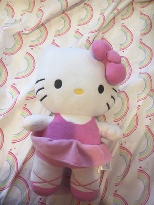 Hello kitty ballerina outfit pillow plushie for Sale in Anaheim, CA