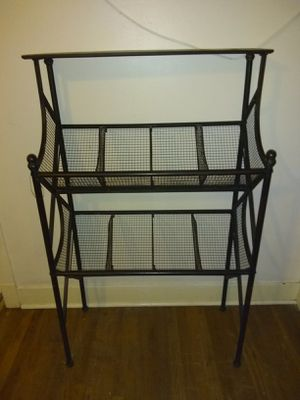 Metal storage rack for Sale in Starkville, MS
