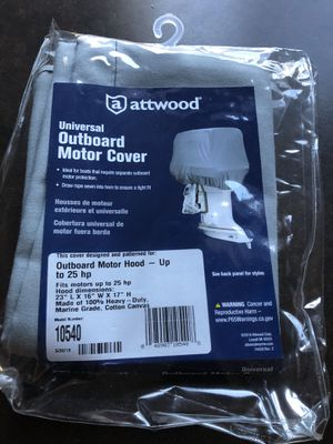 Atwood Outboard Motor Cover for Sale in Hillsboro, OR