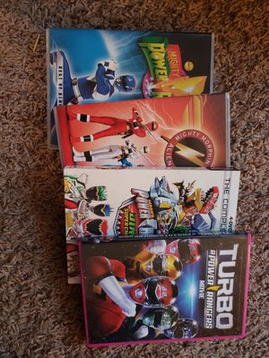 Power rangers DVDs for Sale in Honor, MI