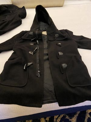Pj mark pea coat size medium long hoody for Sale in Sacramento, CA