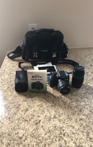 Cannon Rebel T3i Eos 600D for Sale in Silver Spring, MD
