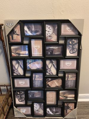 ***24 collage pictures frames*** for Sale in Clearwater, FL
