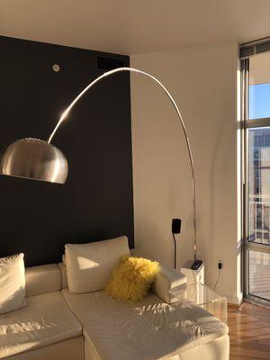 Modern Arco floor lamp for Sale in Herndon, VA