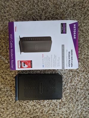 WiFi Cable Modem Router for Sale in Jersey Village, TX