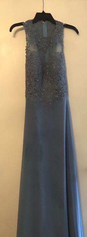 Mardi Gras/prom dress- light blue- size 8 for Sale in Prairieville, LA