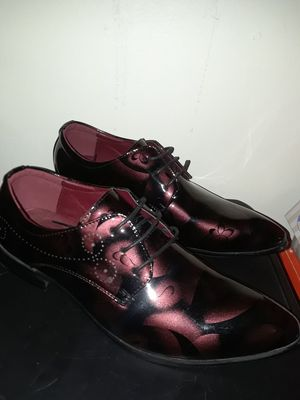 Burgundy Mafioso's, Size 10 for Sale in Fort Washington, MD