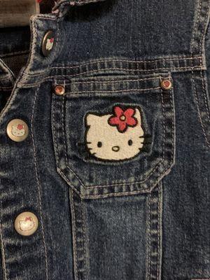 Hello kitty jean jacket size 5 for Sale in Gilbert, AZ
