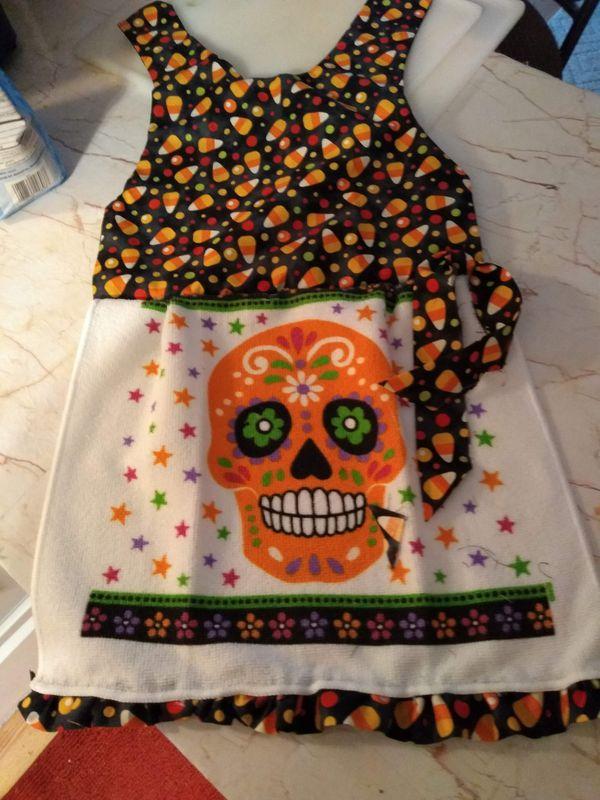 Halloween dish towel dresses