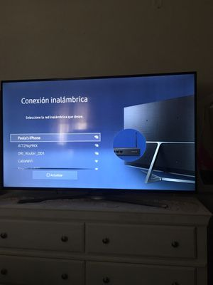 """SAMSUNG Smart Tv 55"""" by 30"""" for Sale in Los Angeles, CA"""
