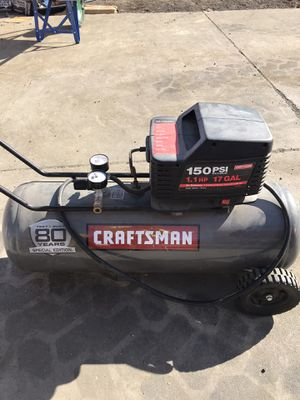 Craftsman air compressor for Sale in Fairfield, CA