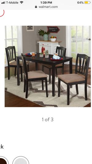 Dining table with chairs for Sale in Herndon, VA