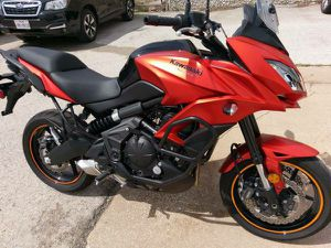 2016 Kawasaki Versys 650 ABS dual sport adventure motorcycle for Sale in Addison, TX