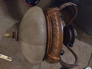 Celing Iight fixture iron great condition for Sale in Oklahoma City, OK