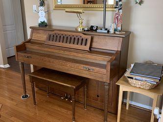 "Piano , Upright (42"") - Free for Sale in Burlington,  NJ"