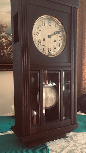 Original certified antique 1920 wall clock from Germany for Sale in Chandler, AZ