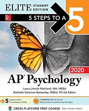 5 Steps to a 5 AP PSYCHOLOGY 2020 for Sale in Lexington, SC