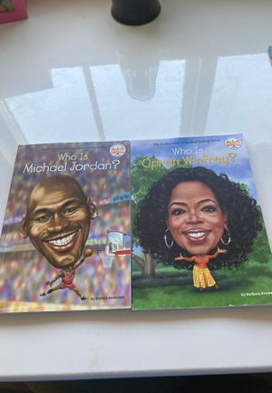 Who Is? 2-Pack Books for Sale in Visalia, CA
