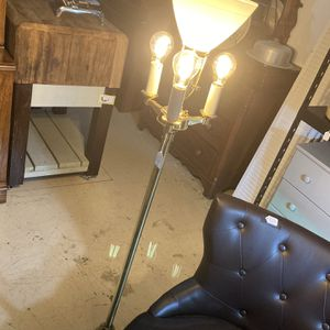 Mid Century Brass Stiffel Floor Lamp - 4 Bulbs for Sale in Crosby, TX