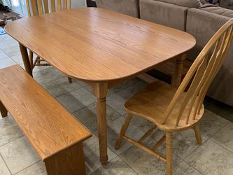 Solid Oak Dining Set for Sale in Reisterstown,  MD