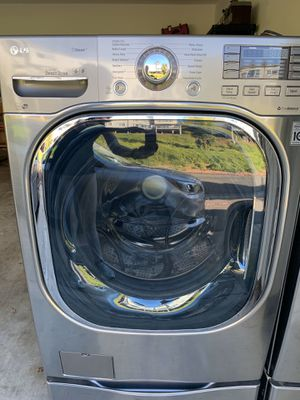 LG Steam Washer and TrueSteam Dryer for Sale in San Diego, CA