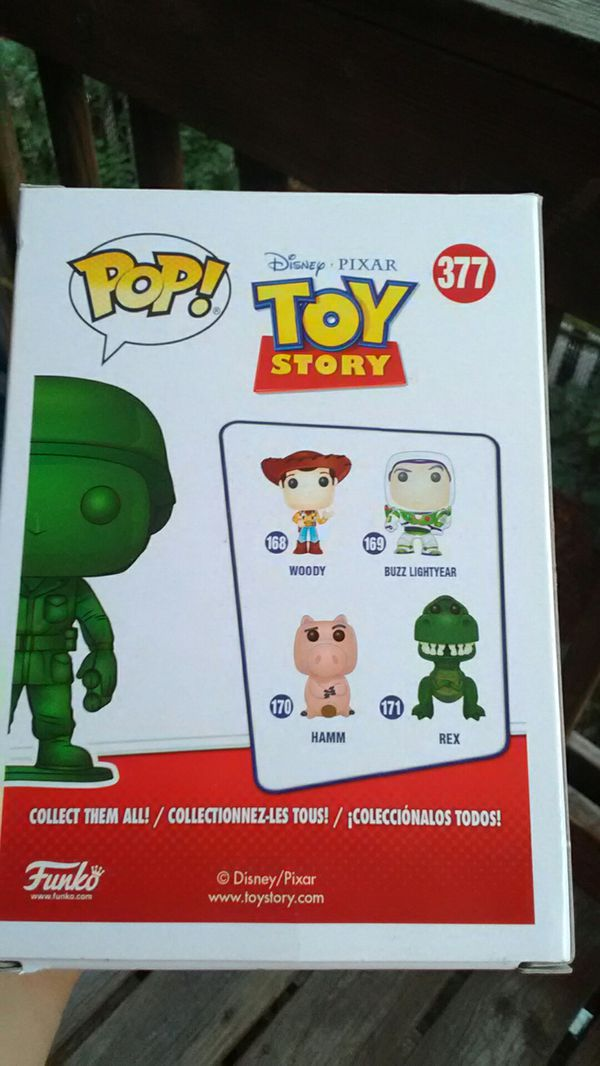 Funko Pop Army Man ( 2018 Spring Convention Exclusive )