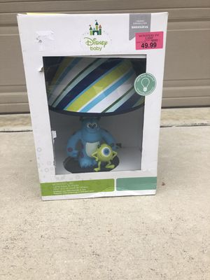 Monster's inc Lamp Disney baby series. for Sale in San Antonio, TX