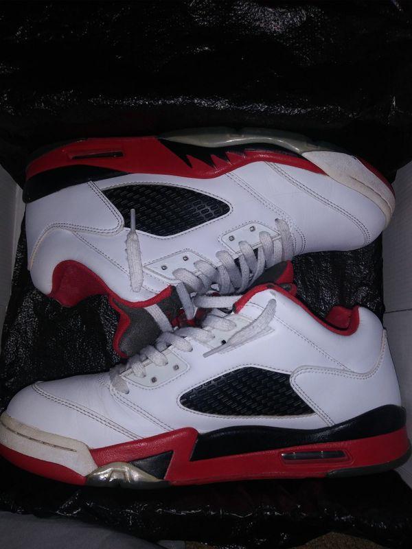 Jordan retro 5s SZ 10
