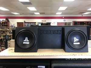 "jl audio 12"" truck speakers for Sale in Austin, TX"