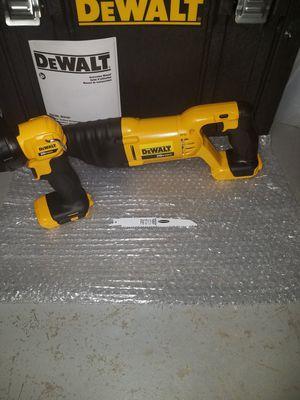 New dewalt 20v MAX sawz all and flashlight combo for Sale in Ashburn, VA
