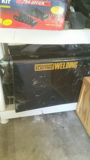Used welder comes with everything for Sale in Cedar Hill, TX