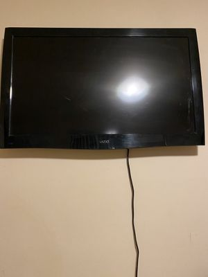 SWIPE TO SEE ALL PHOTOS - Vizio 42inch flatscreen TV, wooden vanity with mirror and 2 bookshelves for Sale in Los Angeles, CA
