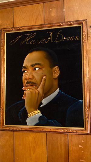 Velvet Dr Martin Luther King Jr Panting for Sale in Decatur, GA