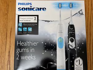 Phillips Sonicare 2 Series Plaque Control Dual Handle Electric twin pack for Sale in Falls Church, VA