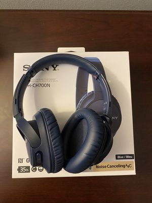 Sony WH-CH700N Wireless Over-Ear Headphones - Blue for Sale in San Diego, CA